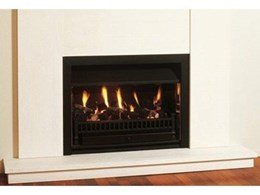 RF800 gas fireplaces from Real Fires designed specifically for rooms with low ceilings
