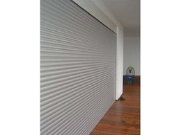 RS5 aluminium roller shutter security system from The Australian Trellis Door Company