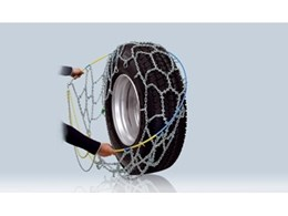 RUD-matic MAXI high-traction snow chains for trucks and buses