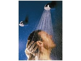 Rada VR105 vandal resistant shower-head from Thornthwaite Technologies