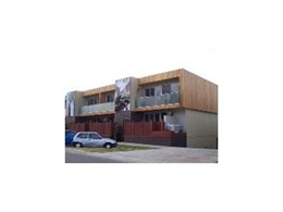 Radial Timber Shiplap used for Apartments in Mordialloc, Victoria