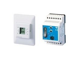 Range of thermostats from Comfort Heat Australia
