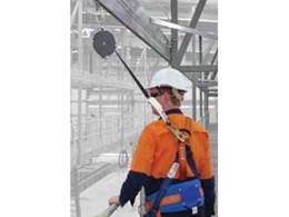 Raptor overhead rail fall arrest and abseil system from Sayfa Group