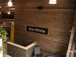 Western Red Cedar contributes to edgy design at refurbished Ray White office