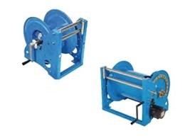 ReCoila T Series heavy duty power reels and spring rewinds from ReCoila Reels