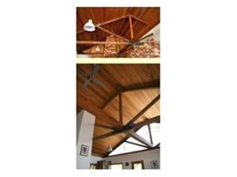 Recycled beams and trusses from Australian Recycled Timber