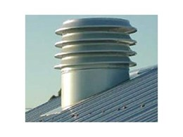Residential roof ventilator from Condor Ventilation