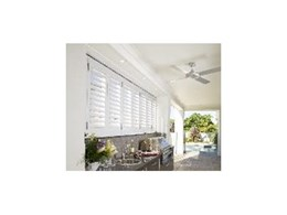 Resort style living with Accent External Plantation Shutters