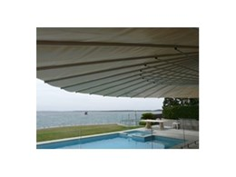 Retractable awnings from SeaShell Industries