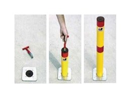 Retractable bollards from Barrier Group for traffic control