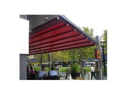 Retractable roof systems from Viva Sunscreens installed at Riverside Quays in Melbourne