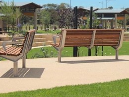 RiverWalk Town Project gets a Furphy Foundry suite of street and park furniture