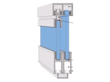 Roller bearing cabinet track from cowdroy h m architecture and design - Cabinet sliding door tracks and rollers ...