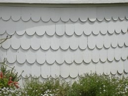 Round End Shingles from Healy's Building Services