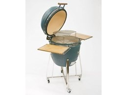 Royal Kamado ceramic barbecue grills available from Nomalon Imports