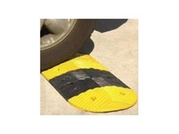 Rubber speed control humps available from Novaproducts Global