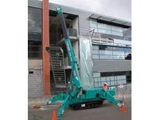 Rubber-track, mini crawler cranes from Kennards Lift and Shift