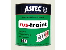 Rus-traint rust treatments manufactured by Astec Paints Melbourne