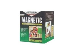 Rust Oleum Magentic Primer water based formula available from Zinsser Asia Pacific