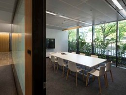 SAS International metal ceilings specified for 4 National Circuit office in Canberra