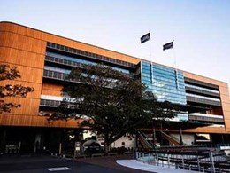 SGI supplies ProdEx timber veneer composite panel for new Randwick Racecourse Grandstand facade