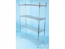 SI Retail add new wire storage racks to their range