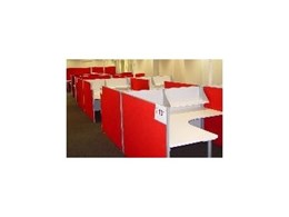 SK Slimline 30 Screen System from SK Office Furniture Sydney