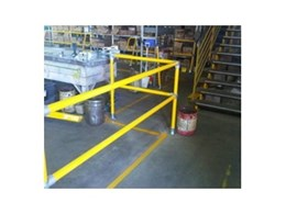 Safestop modular pedestrian and industrial barrier systems available from Moddex Group