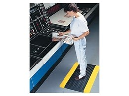 Safety Alert SpongeCote anti-fatigue mats from the General Mat Company