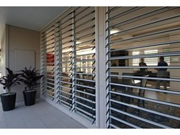 Safetyline Jalousie window louvres the eco friendly solution for Australian Summers