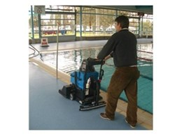 Salla floor scrubbers from Duplex Cleaning Machines for clean safety floors in swimming centres