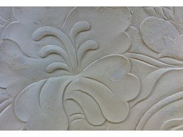 Sandstone engraving for luxury designs