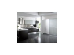 Satin polyurethane and glossy polymeric kitchen cabinets from Cubopac