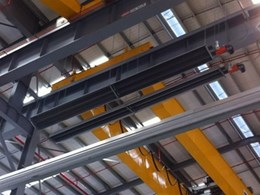 Schwank overhead tube heaters at Liebherr Erskine Park facility