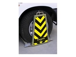 Scorpion wheel clamps from Barrier Security Products