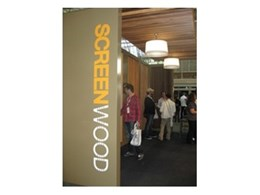 Screenwood showcase timber wall panel designs created especially for DesignEX 2010