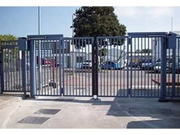 Secure vehicle access with the Speed Gate from Record Automated Doors