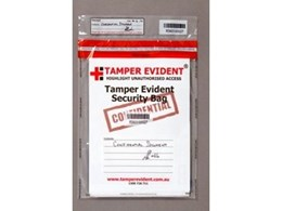 Security Bags from Tamper Evident