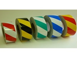Self adhesive vinyl reflective tapes available from Floorsafe International