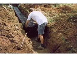 Septic leach drainage systems from Ausdrain
