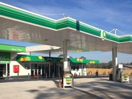 Service station construction schedule maximises business' operating time