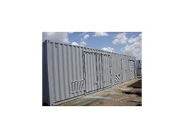 Shipping container modifications from Self Contained