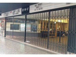 Shopfront security doors achieve new security rating