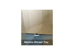Shower trays by Marmox Australia