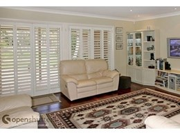 Shut out the heat with custom made shutters and screens