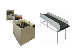 Shute-To-Shelf custom conveyors for libraries from Wharington International