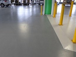 Sika installs flooring and waterproofing solution at building car park