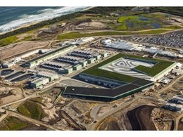 Sika supplies green roof waterproofing membrane for Australia's largest desalination plant