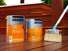 Sikkens Ezee deck brush simplifies timber decking maintenance