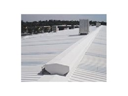 SkyCool thermal coating for metal roofs
